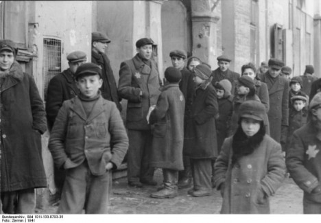 Children in the Lodz Ghetto 1941