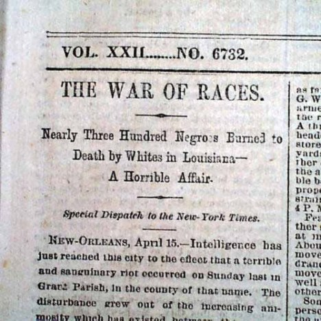 New York Times, April 16, 1873