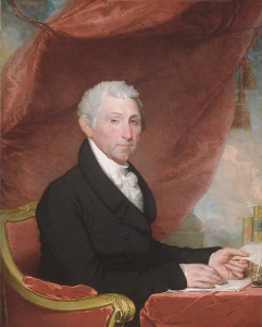 Governor (and later President) James Monroe