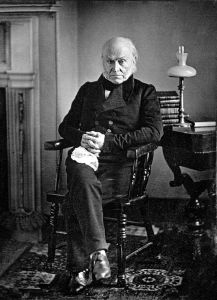 John Quincy Adams. Copy of 1843 Daguerreotype by Philip Haas