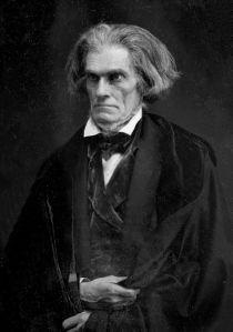 John C. Calhoun by Mathew Brady, 1849