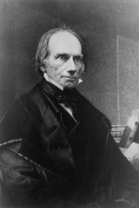 Henry Clay represented Kentucky in the United States Senate several times throughout his public service career: from 1806 to 1807, 1810 to 1811, 1831 to 1842, and 1849 until his death in 1852. credit: United States Senate Historical Office