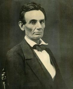 Abraham Lincoln in October, 1959