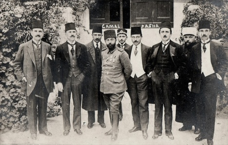 Founders of the Young Turk Movement in 1915
