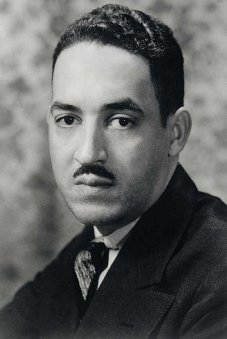 Thurgood Marshall in 1936 at the beginning of his career with the NAACP