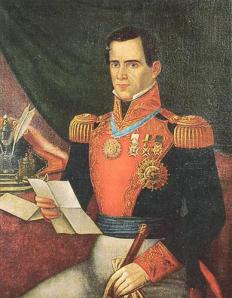 Mexican President Antonio López de Santa Anna