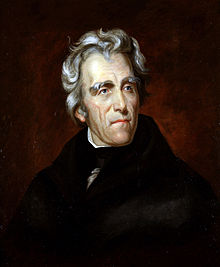 Andrew Jackson in 1824, painting by Thomas Sully
