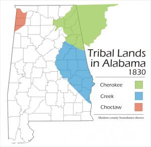 Alabama-tribal-lands-in-Alabama-1830-300x291