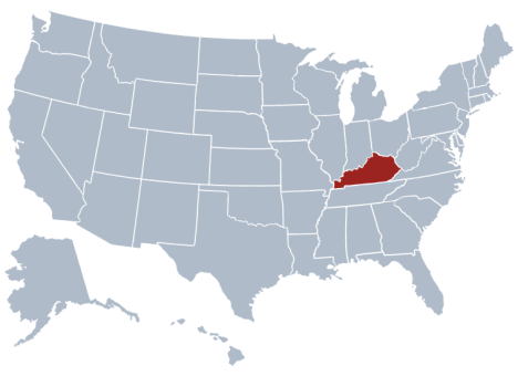 December Kentucky Begins Its Bid To Join The Union As - Us congress map