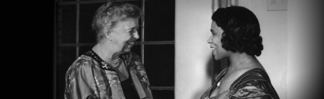 Eleanor Roosevelt with Marion Anderson