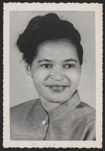 Rosa Parks, November 1956