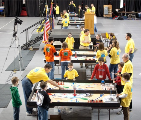 Kentucky FIRST LEGO League's State Robotics Competition