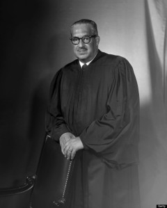 Portrait of Supreme Court Thurgood Marshall (Photo by Bachrach/Getty Images)