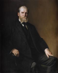 Gubernatorial portrait of Charles Evans Hughes