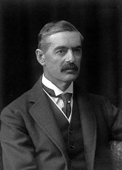 Neville Chamberlain in 1921
