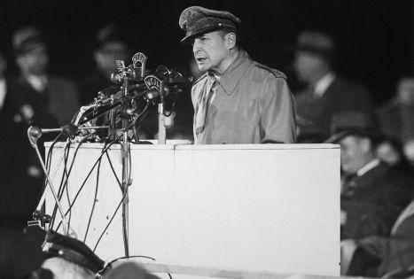 MacArthur in 1951