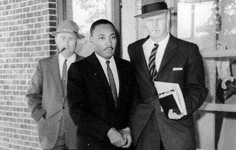 Martin Luther King, Jr. arrested in Atlanta on October 19, 1960