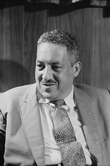 Thurgood Marshall in 1957