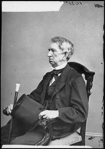 Portrait of Secretary of State William H. Seward.  Brady National Photographic Art Gallery