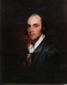 Portrait of Aaron Burr (1756-1836); Collection of the New Jersey Historical Society