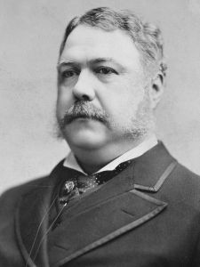 Chester A. Arthur, President of the United States