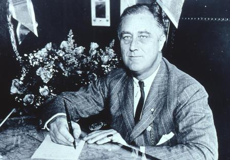 Franklin D. Roosevelt in 1938