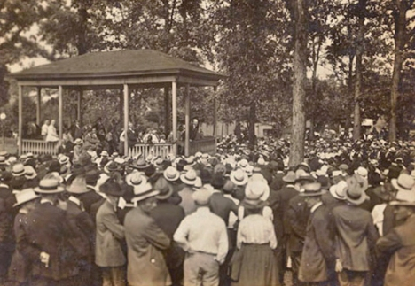 1918 Canton, Ohio Rally
