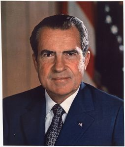 Richard M. Nixon, 37th President of the U.S.