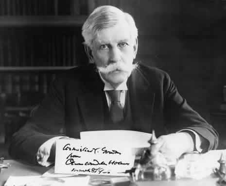 Photograph of Supreme Court Justice Oliver Wendell Holmes. Courtesy of the Library of Congress.