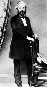 Karl Marx in 1861