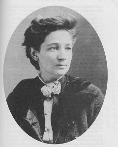 Victoria Woodhull, photo by Matthew Brady