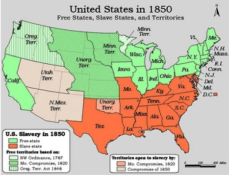Map Of Us Google Search Social Studies Pinterest Slave - Us slave states map
