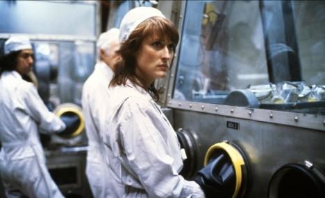Meryl Streep as Karen Silkwood