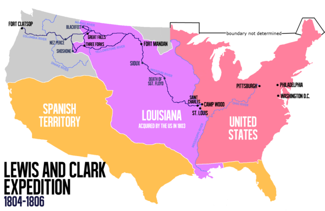 December 20, 1803 – United States Gets Louisiana Territory ... on
