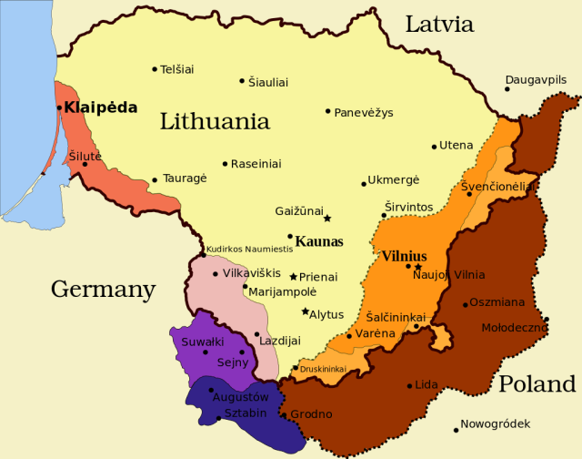 German occupation of Lithuania during WWII
